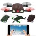 Foldable Pocket Drone HD Camera Altitude Hold Mobile WIFI Control mini rc quad