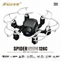 RC HEXRCOPTER 6 ROTOR WITH HD CAMERA SPIDER DRONE POCKET QUAD