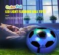 Funny LED Light Flashing Ball Toys Air Power Soccer Balls hover football gift