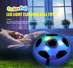 Funny LED Light Flashing Ball Toys Air Power Soccer Balls hover football gift