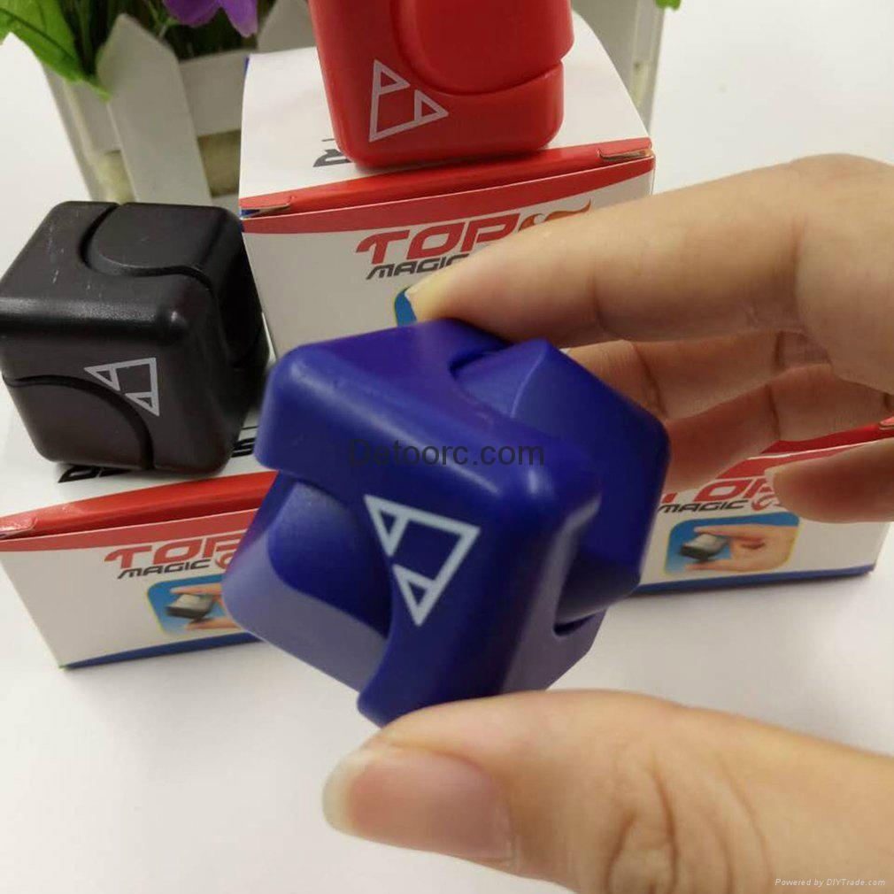 Mini Magic Cubes Adults Kids Finger Hand Spinner Toys Anti-Stress toys for Gift 1