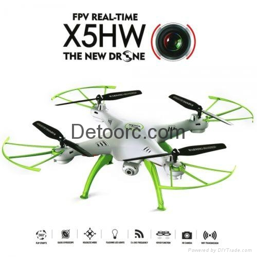 Syma X5HW RC Quadcopter Drone HD Wifi Camera Hover hold FPV Upgraded X5SW 3