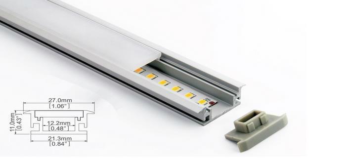 Aluminum Profile LED Strip Light For LED Dance Floor Lamp 3