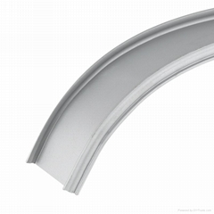 Bend flexible aluminum profile use in the housing wall car decorate