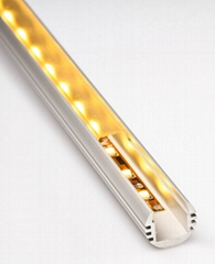 O shape suspended Aluminium Extrusion for LED strip