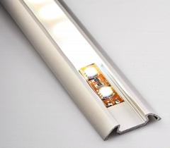 led strips aluminum profile polished aluminum extrusion profiles