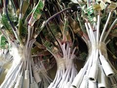 振動感應變色燈手拋球專用燈震動感應七彩燈