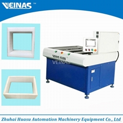 EPE foam laminating machine of frame forming