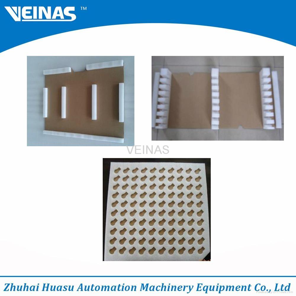 EPE foam and cardboard laminating machine 2