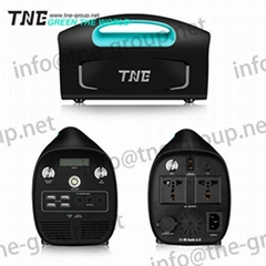 TNE solar online smart ups power supply portable generator power bank