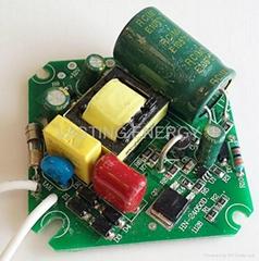 LED par spot lights drivers with fan output 50W 600mA high PF