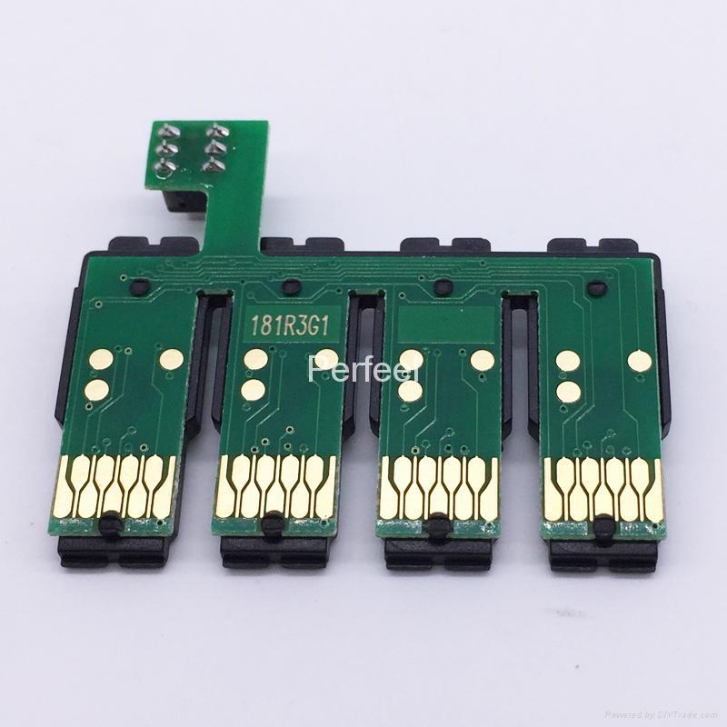 T1811-T1814 CISS Combo Chip For Epson XP-30 XP-102 XP-202 XP-205 XP-302 XP-305 1