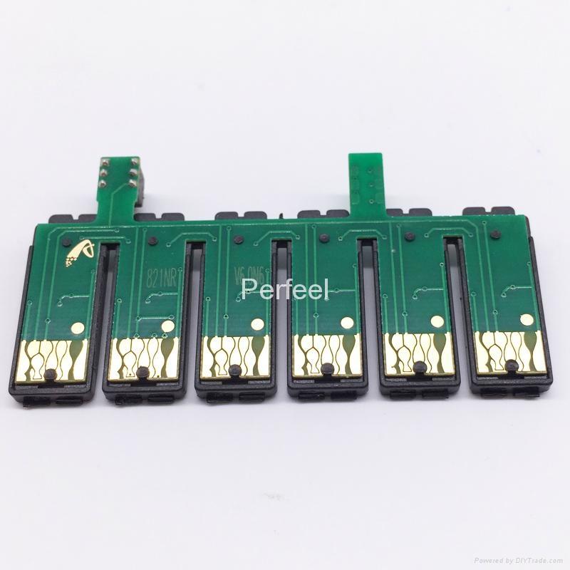 T0811N-T0816N CISS Chip For Epson TX700 TX800 TX710W TX650 TX810FW TX820FWD 1