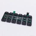 T0811N-T0816N CISS Chip For Epson TX700 TX800 TX710W TX650 TX810FW TX820FWD 2