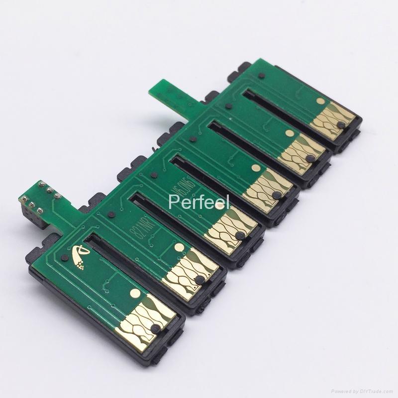 T0821N-T0826N Reset CISS Chip For Epson T50 T59 TX720WD TX730WD RX615 R270 R290 1