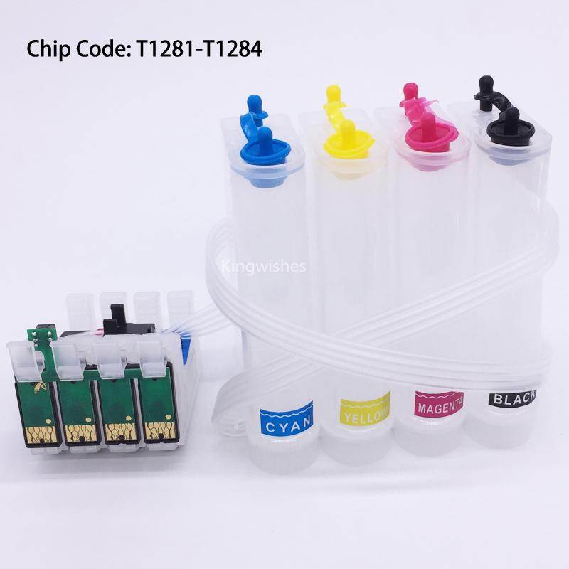 T1281 CISS Ink System For Epson S22 SX125 SX420W SX425W SX235W SX130 SX435 SX230 1