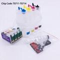 T0711 CISS Ink System For Epson S20 S21 SX100 SX110 SX200 SX210 SX400 SX510W 1