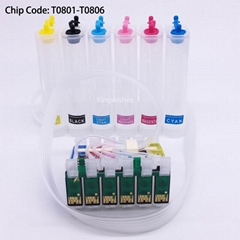 T0801 CISS Ink System For Epson P50 PX820FWD PX830FWD R265 R360 R285 RX585 RX685