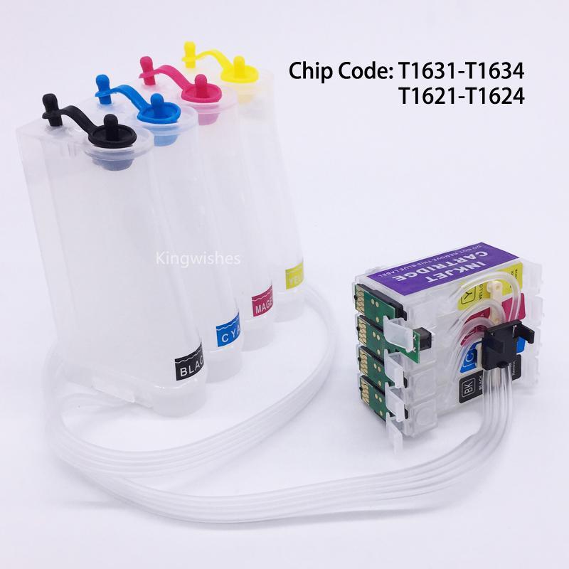 T1631 CISS Ink System For Epson WF-2010W WF-2510WF WF-2520NF WF-2530WF WF-2540WF 1