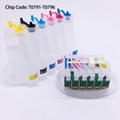 T0791 CISS Ink System For Epson 1400 PX700W PX800FW P50 PX830FWD A1430