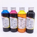 100ML Universal Edible Ink For Canon 4 Color Desktop Inkjet Printer BK C M Y