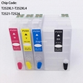 T2521-T2524 Refillable Cartridge For