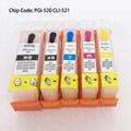 PGI520 CLI521 Refillable Cartridge For
