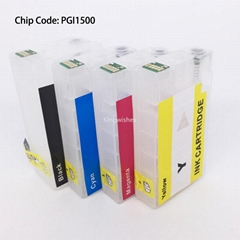 PGI1500 Refillable Cartridge For Canon MAXIFY MB2050 MB2350 MB2150 MB2750