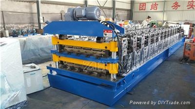 Double Layer Roofing Sheet Forming Machinery 5