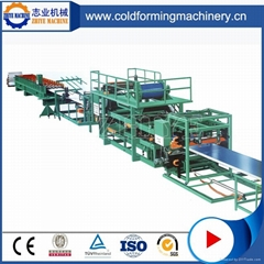 PLC Controlling EPS Sandwich Roof Or Wall Sheet Production Line