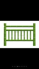 中原大成1.8米仿竹护栏模具