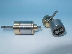 Precision dentist handpiece mini gearbox small modulus metal reducer gearbox