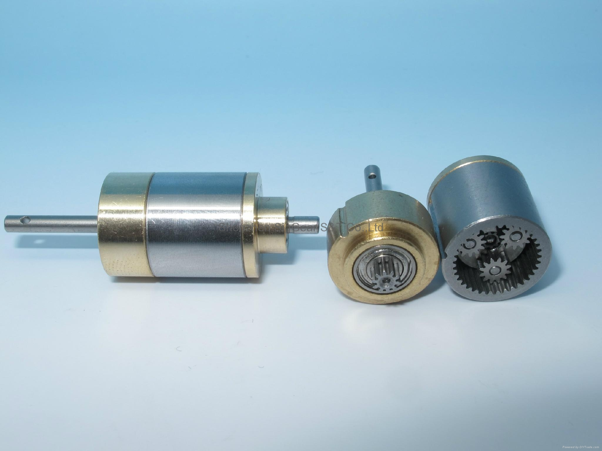 Precision dentist handpiece mini gearbox small modulus metal reducer gearbox 3