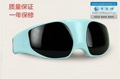 深圳吉富源正品眼部按摩儀磁石按摩預防近視支持貼牌工廠直銷