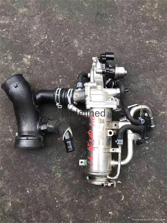 供應16款保時捷卡宴柴油版 Turbo  EGR閥 1