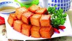 千叶豆腐鱼豆腐新型结构原料替代TG酶