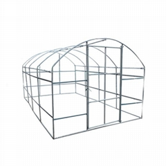 Courtyard Film Plastic Greenhouse For  Vegetable Or Flowers