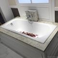 drop-in cast iron hot tub