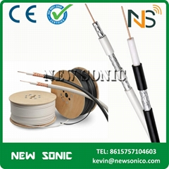 Factory Price  RG59 RG6 CCTV Cable Low Loss 100m 305m Roll