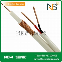 China Factory 305M Low Loss Coaxial Cable RG59 Best Quality Free Sample