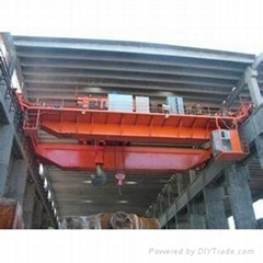 QD model 5-50/10t overhead crane with