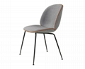 Replica Designer Furniture GUBI Beetle Chair For Dining Room 3