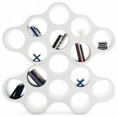 fiberglass eight holes cloud bookcase