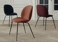 Upholstered ve  et metal base replica gubi beetle dining chair by gamfratesi 4