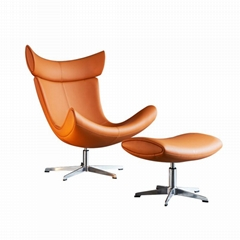 living room furniture swivel leather leisure style boconcept imola chair