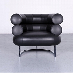 Leather Bibendum Lounge Chair by Eileen Gray for Classicon