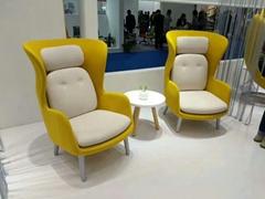 Fritz Hansen Ro lounge chair by Jaime Hayon