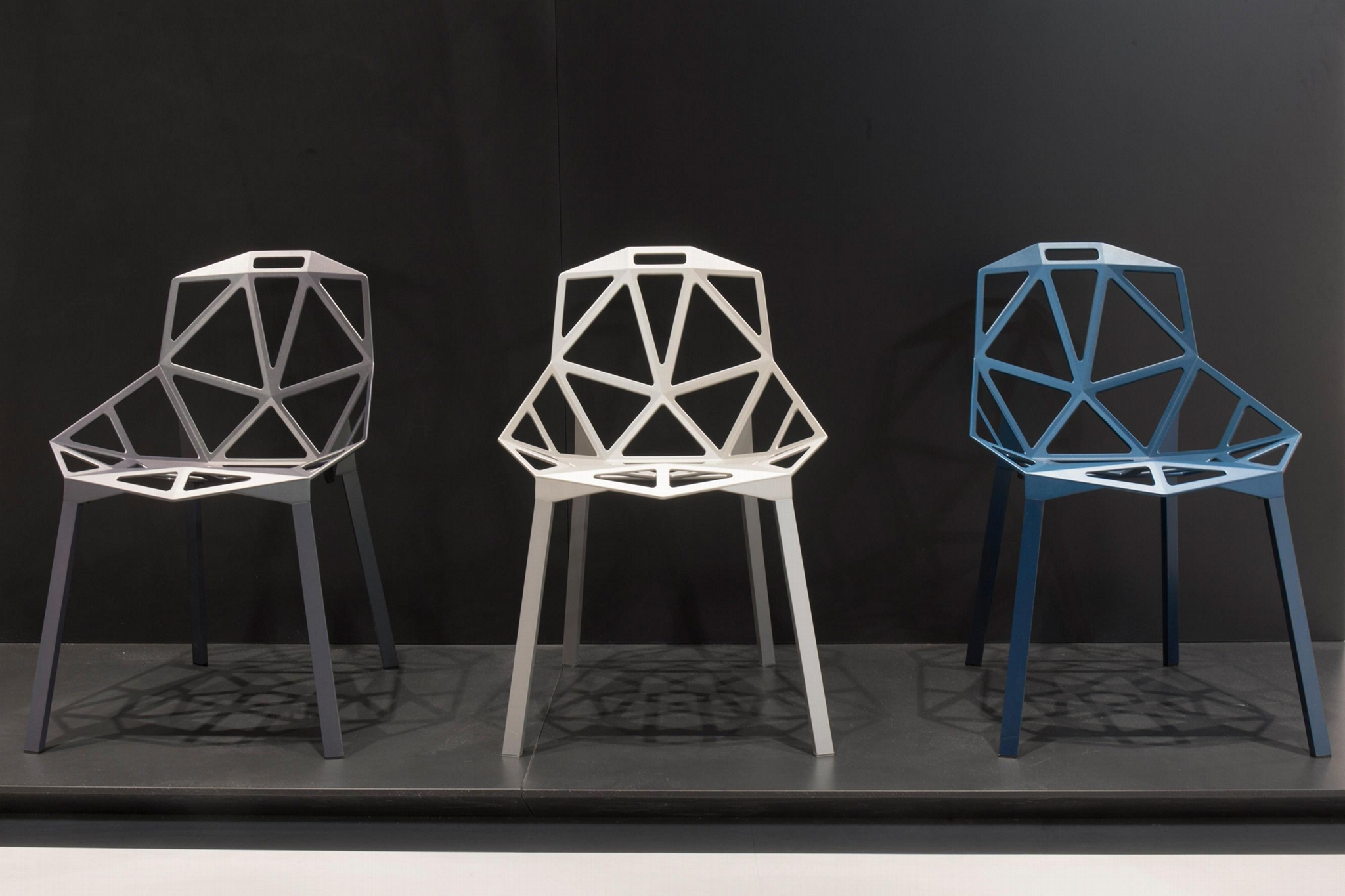 Polished Anodized Aluminum Stackable Konstantin Grcic Magis Chair One Chair 3