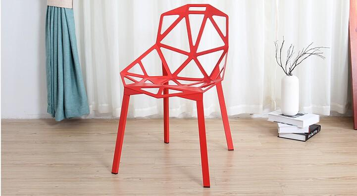 Polished Anodized Aluminum Stackable Konstantin Grcic Magis Chair One Chair 4