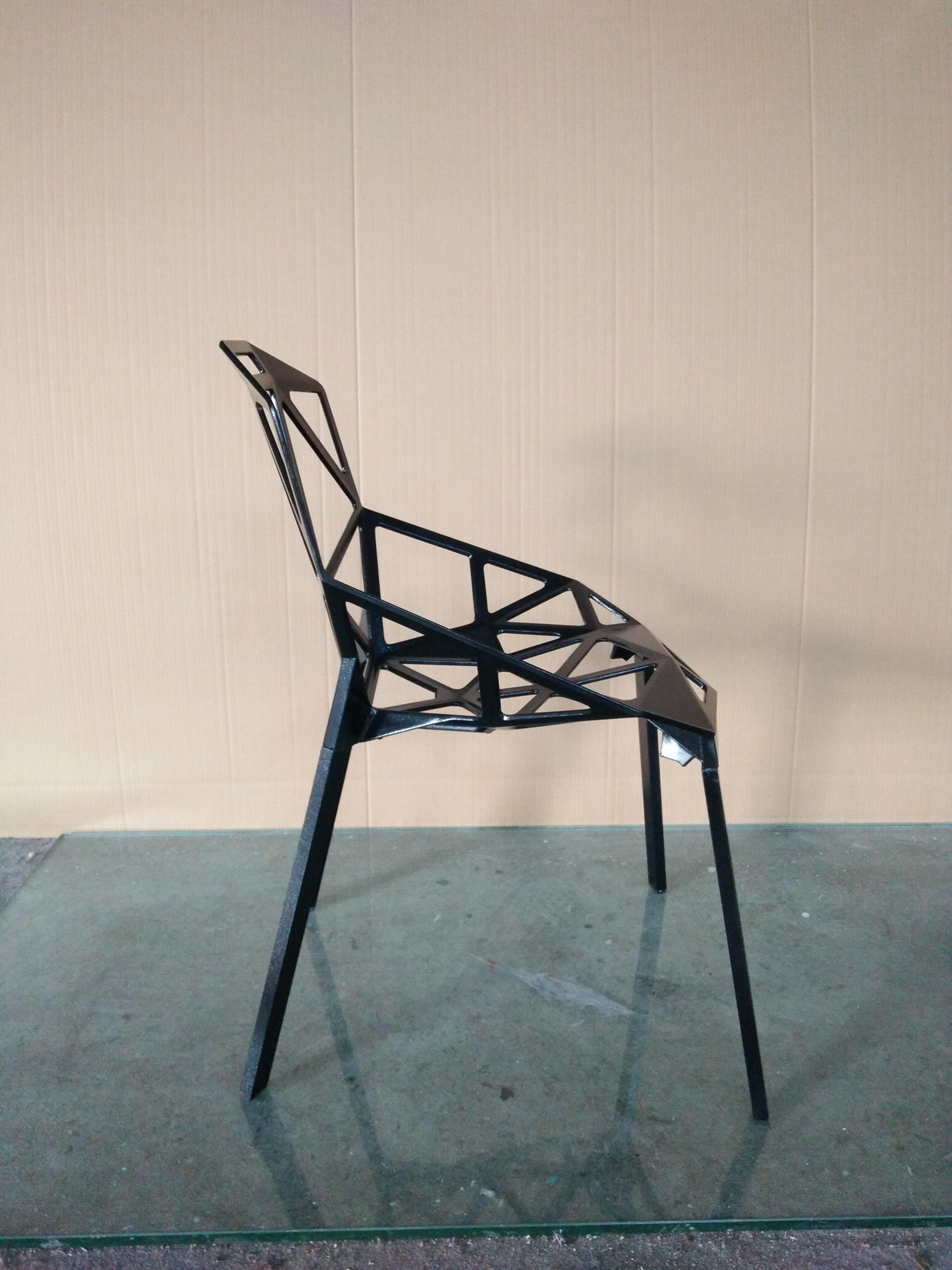 Polished Anodized Aluminum Stackable Konstantin Grcic Magis Chair One Chair 8